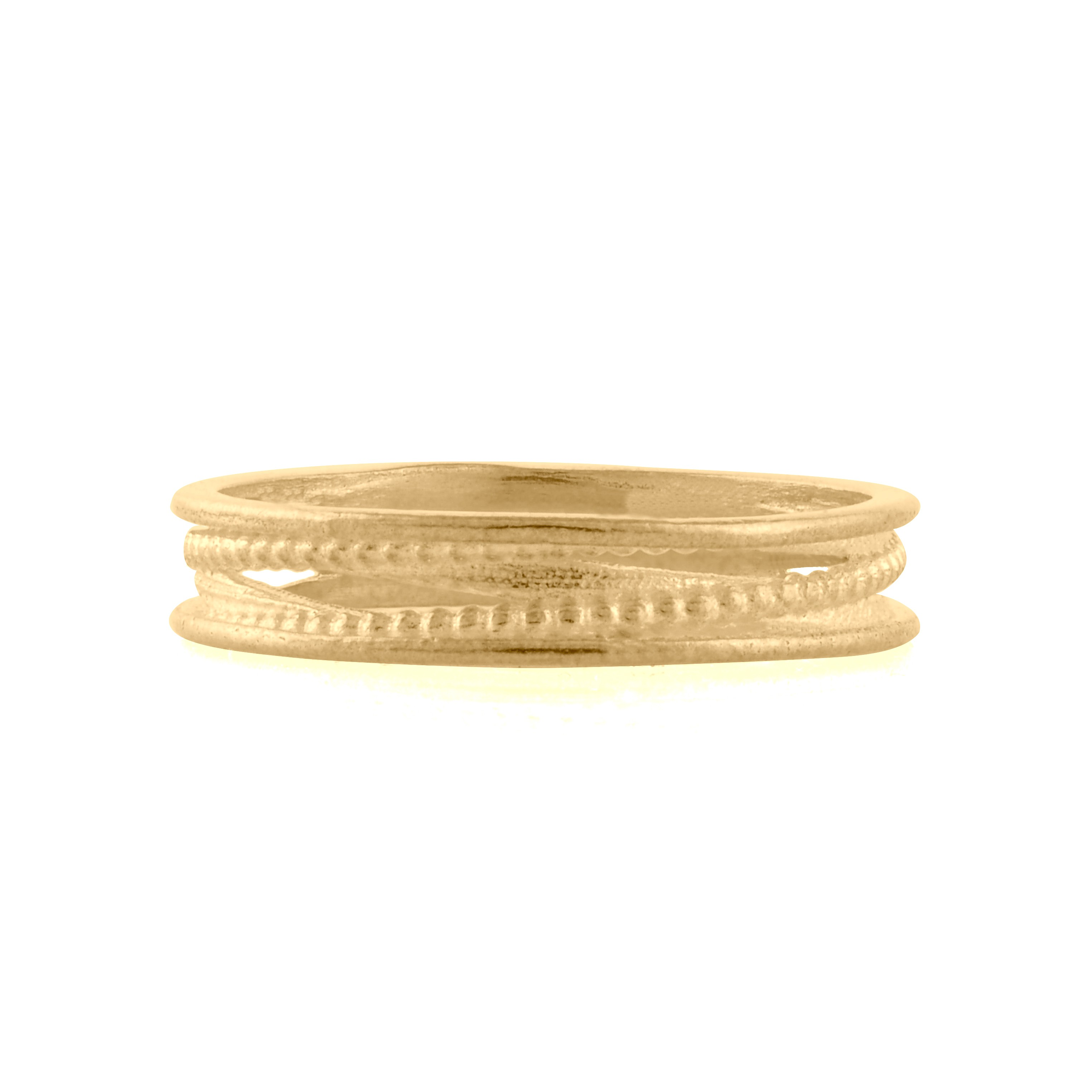14k Gold Ring Round Wedding Rings Double Click On Above Image To View Full Picture