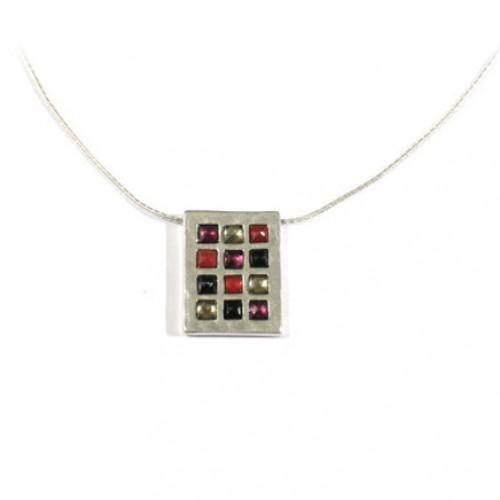 Silver Choshen Necklace