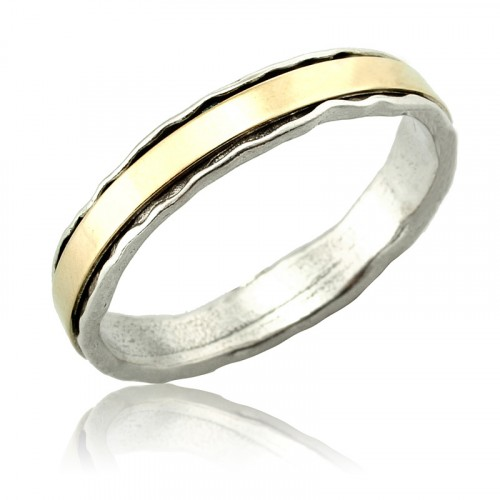 10K Gold and Silver Ring
