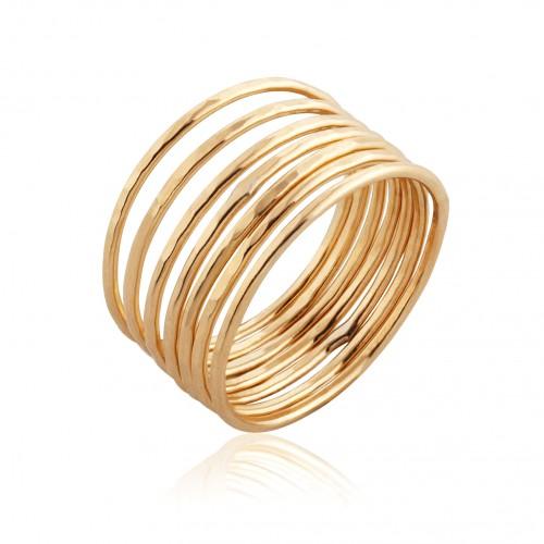 14K Gold Stack Ring