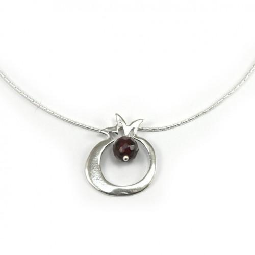 Silver Rimon Necklace