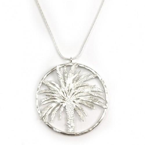Silver Tamar Necklace