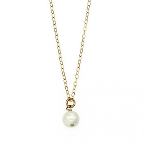 Goldfilled Necklace with Pearls