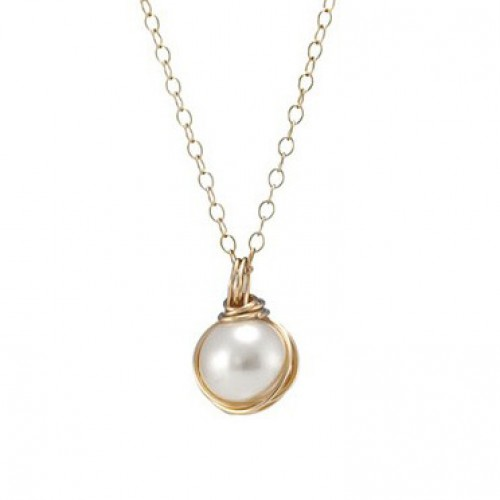 Goldfilled Necklace with Pearl