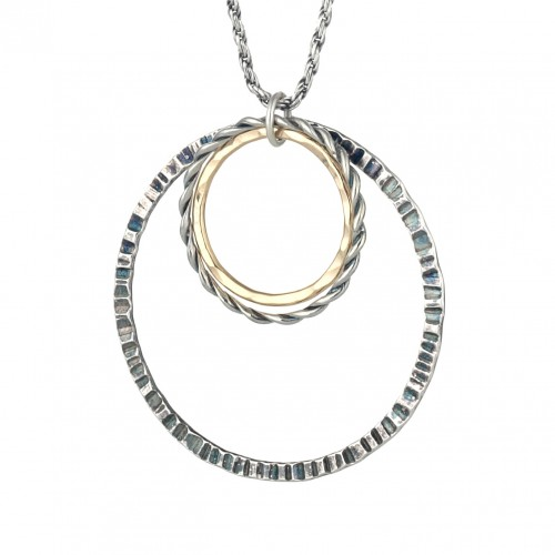 Silver and Gold filled hoops