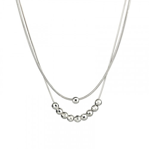 Dubble Silver chain