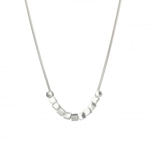 Massive elegant silver chain