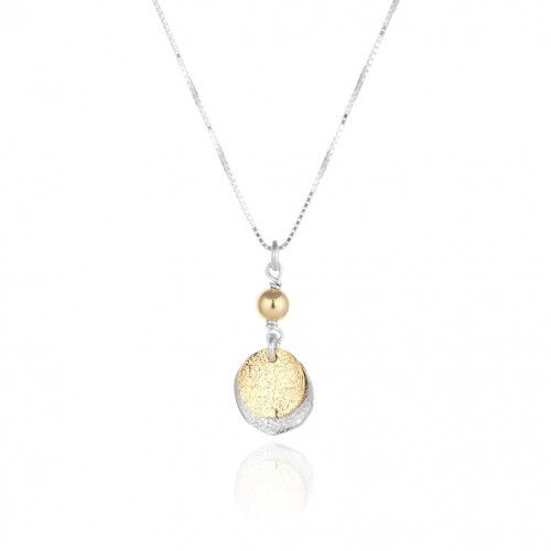 Silver and Gold Filled Necklace